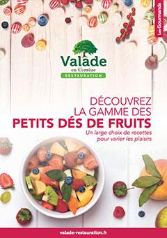 Petits Dés de Fruits - Valade Restauration
